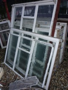 METAL AND WOOD FRAMED WINDOWS