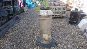 Antique reclaimed chimney pot