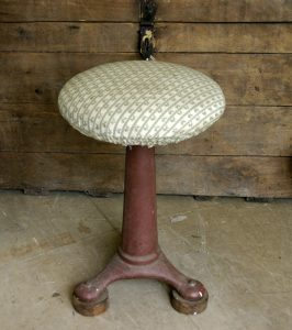 Vintage machinists stool
