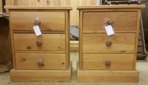 Pine drawer units