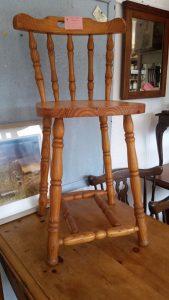 Tall pine stool