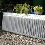 Reclaimed Victorian cast iron radiators