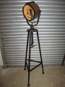 WWII Spotlight Lamp