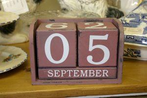 Calendar date block