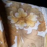 Vintage bedcover & curtains