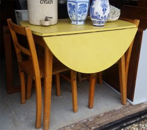Vintage formica table