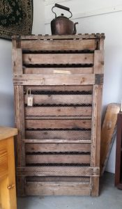 Vintage fruit/potato rack
