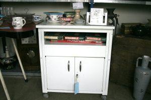 Vintage metal cupboard