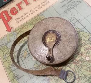 Vintage tape measure