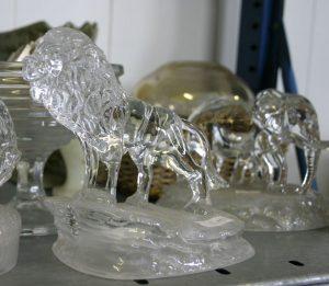 Glass lion