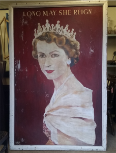 Queen Painting Silver Jubilee