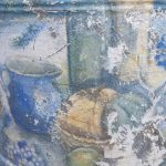 French decoupage watering can