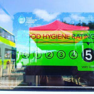 Food rating 5